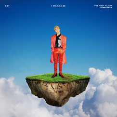 KEY The 1st Album Repackage 'I Wanna Be'