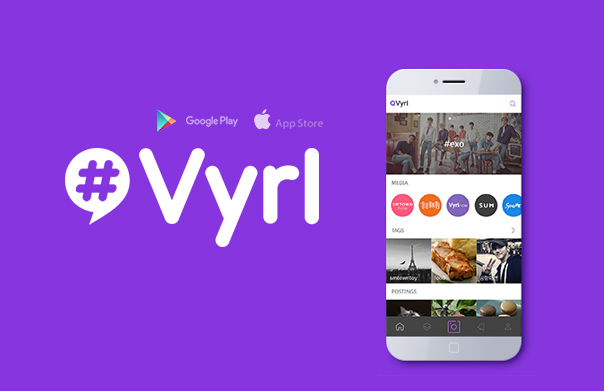 Vyrl APP ( iOS, Android ) Launch!