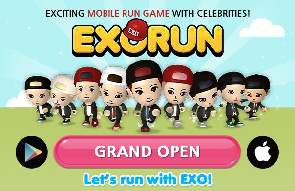 Mobile run game EXORUN Worldwide Grand Open! Play EXORUN right now~!