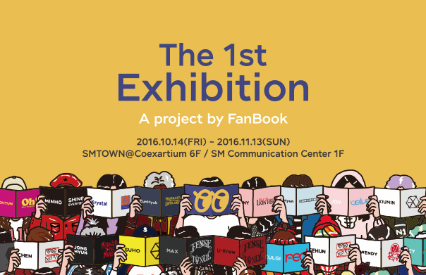 FanBook X S.M. Entertainment open an exhibition!