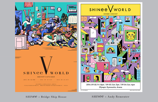 SHINee's Special Exhibit 'SHINee CONCERT -SHINee WORLD- EXHIBITION' Opens on 21st!