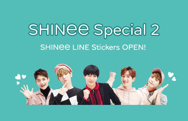 SHINee LINE Stickers OPEN!