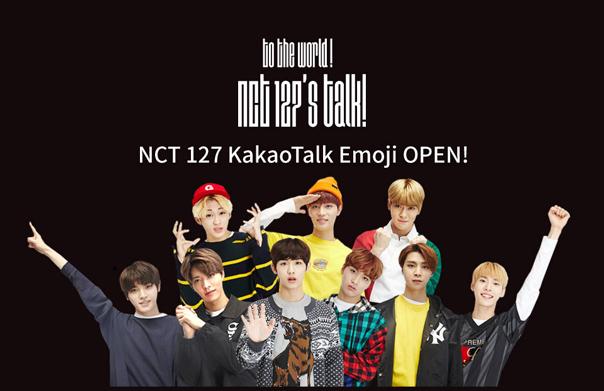 NCT 127 KakaoTalk emoji OPEN!