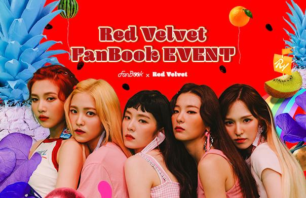FanBook X Red Velvet EVENT!