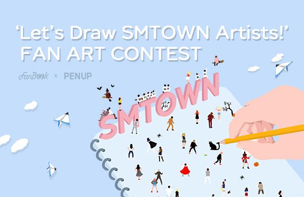 FanBook X PENUP Fan Art Contest!