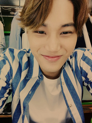 150507 Kai EXO-L Official Fanclub Update (feat. his cute niece) : exo