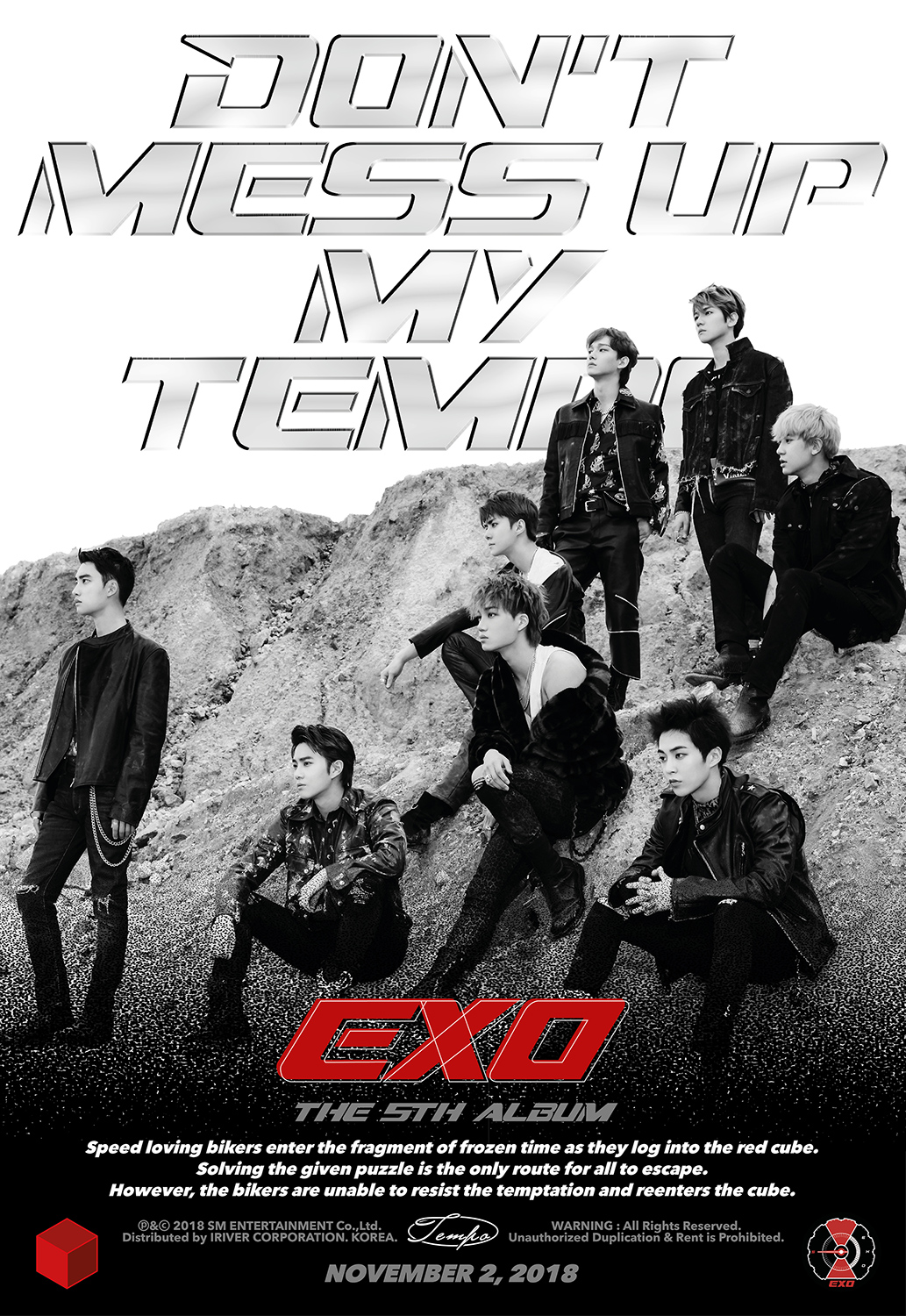 Exo Turn Into Bikers In Tempo Teaser Video Ahead Of New Album S