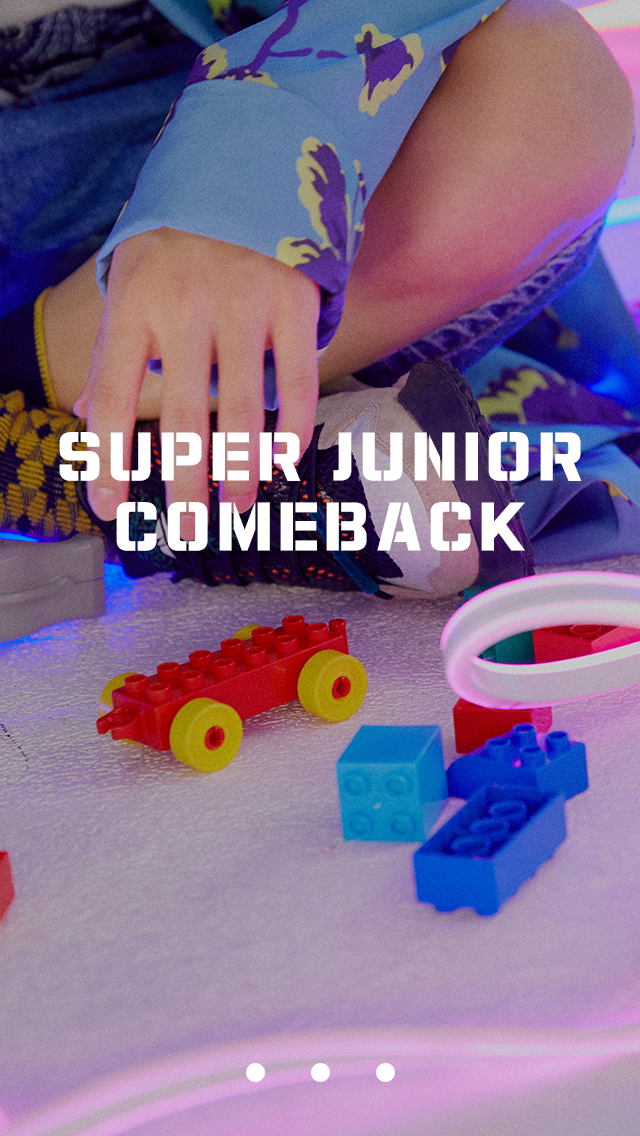 Super Junior Official Website